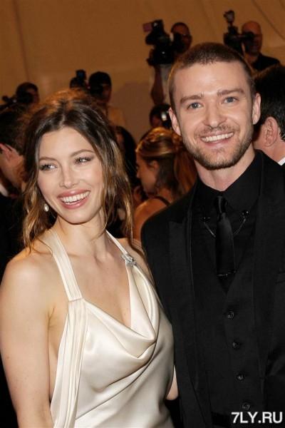Джастин Тимберлейк (Justin Timberlake) женился на Джессике Бил (Jessica Biel)