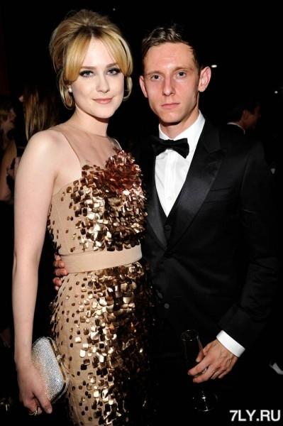 Актерская пара Эван Рейчел Вуд (Evan Rachel Wood) и Джейми Белл (Jamie Bell)