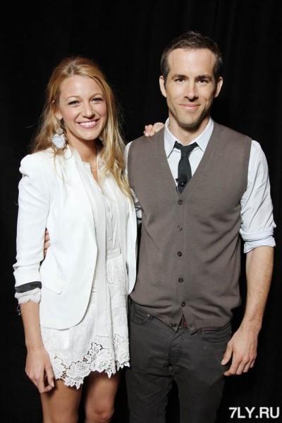 Еще одной «сентябрьской парочкой» стали Райан Рейнольдс (Ryan Reynolds) и Блейк Лайвли (Blake Lively)