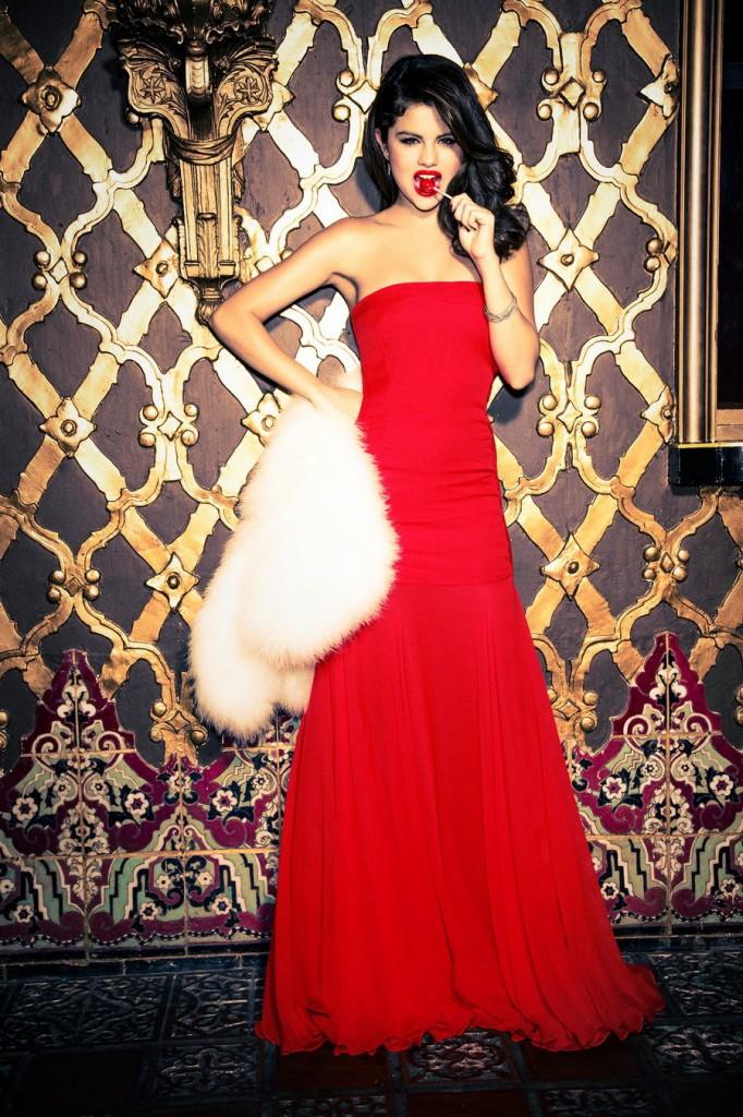 Селена Гомес в  Glamour (декабрь 2012)