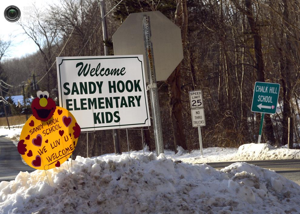 Ученики начальной школы «Сэнди-Хук» вернулись к занятиям