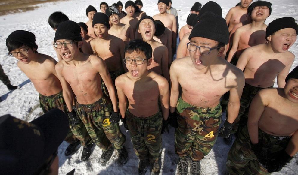 Суровый детский лагерь в Ансане