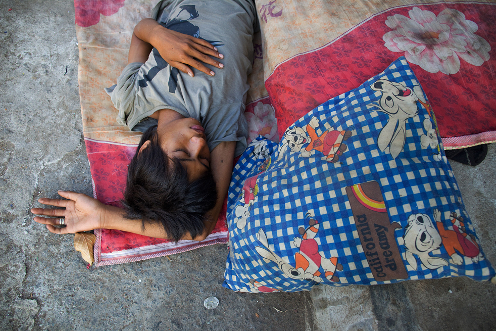 Cambodia's Homeless on the Streets of Phnom Penh