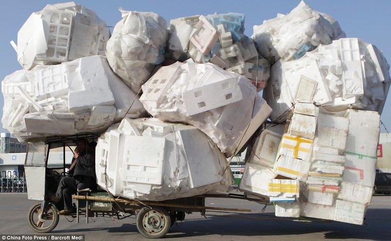 Как перевозят грузы в Китае