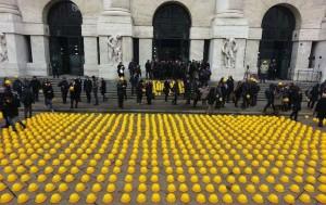 Как выглядит строительная забастовка по-итальянски