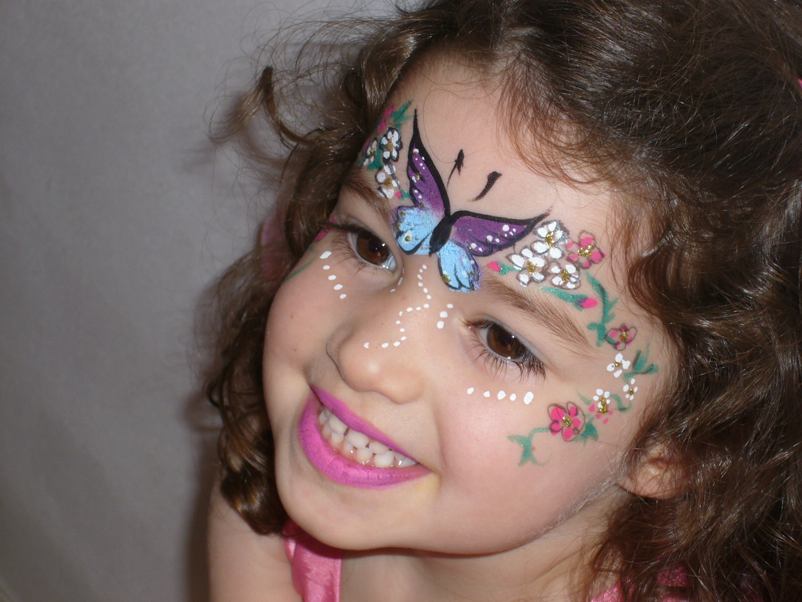 Kiana face painting by Fairy Nat