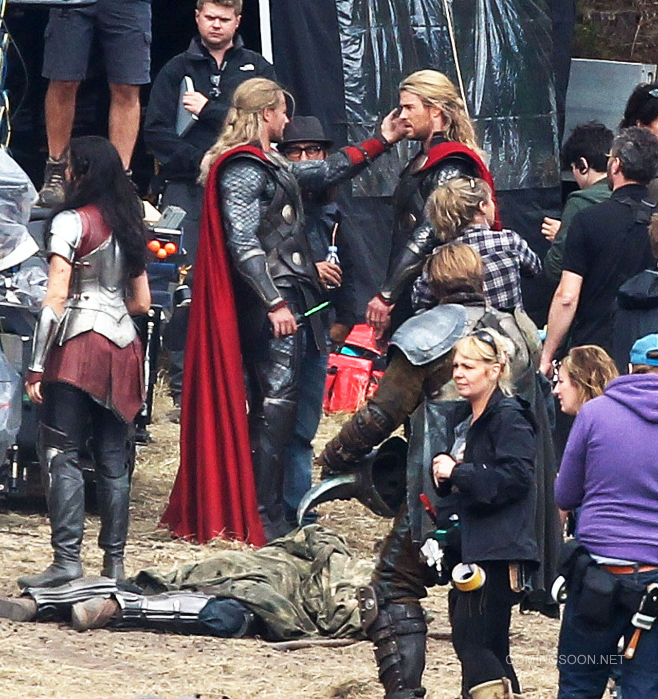 thor filming 110912
