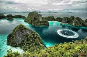 Остров Мисул, Индонезия.