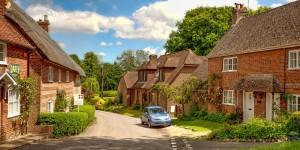 Уютные дома и усадьбы жителей графства под названием Хэмпшир