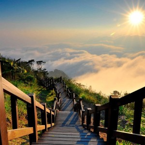 Национальный парк Юйшань, Тайвань.