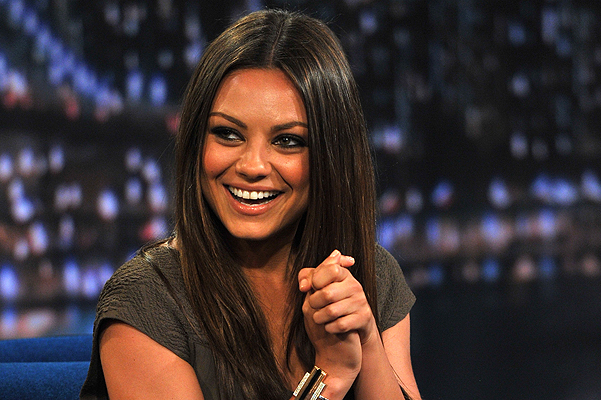 "Mila Kunis Visits ""Late Night With Jimmy Fallon"" - July 18, 2011"