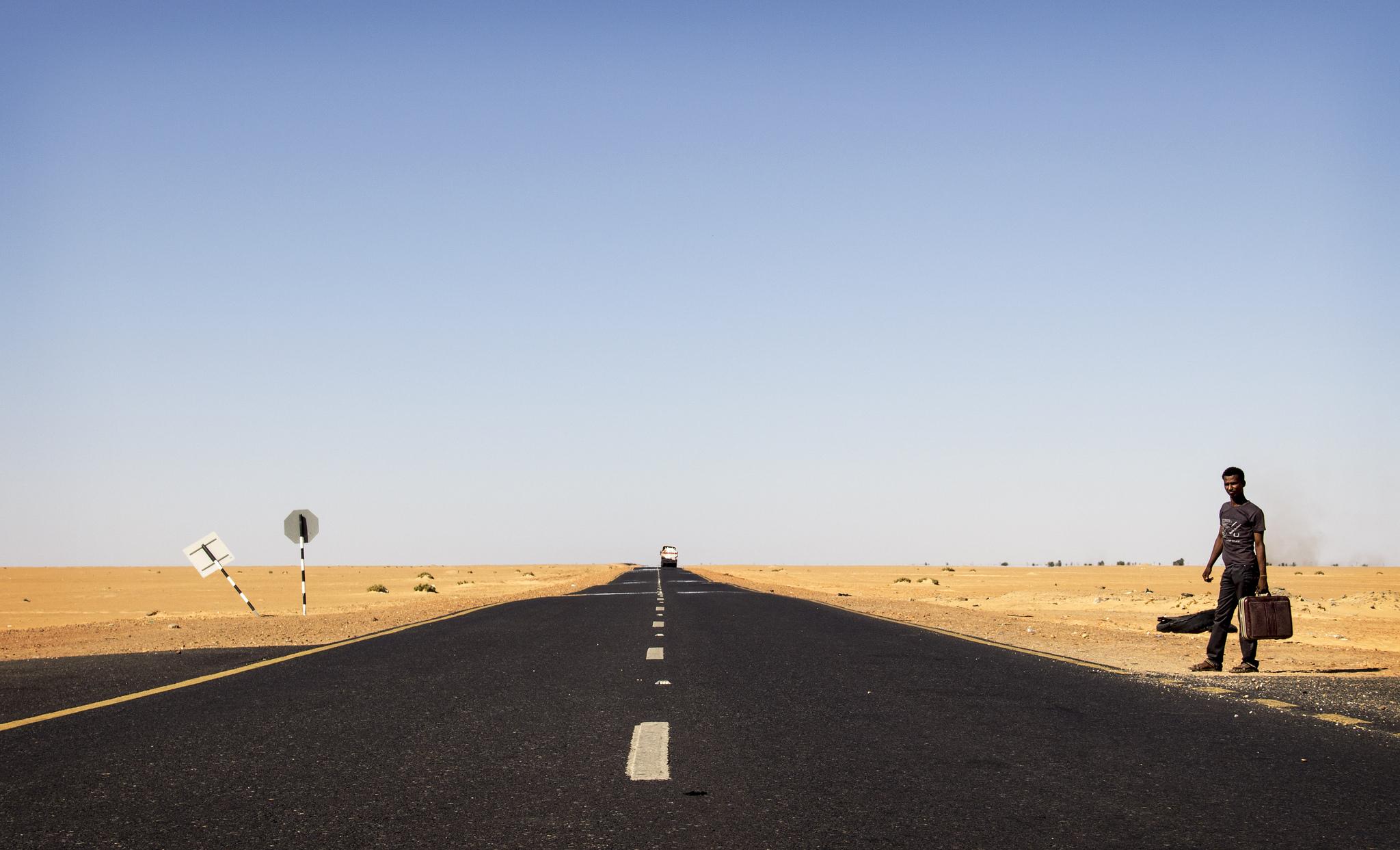 Christiaan Triebert Sudanese Hitchhiker, Where Do You Go