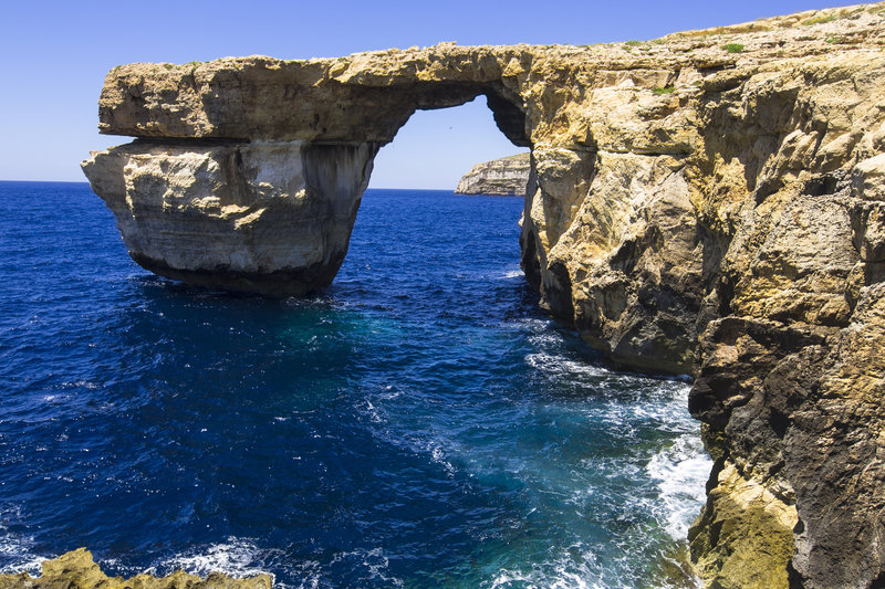Azure Window in Gozo, Malta