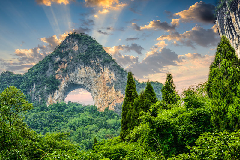 Moon Hill of China