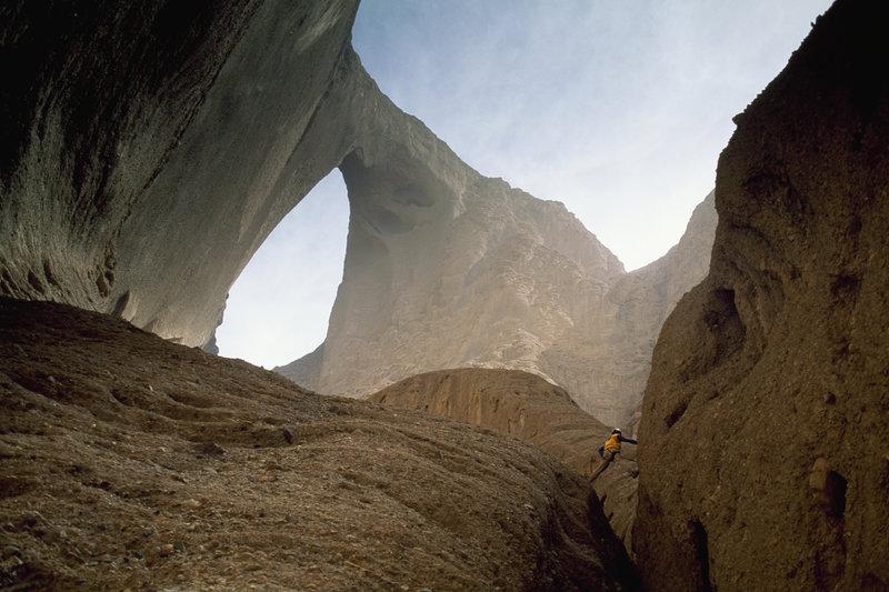Taklimakan Desert, Kara Tagh Mountains, Xinjiang Autonomous Region, China.