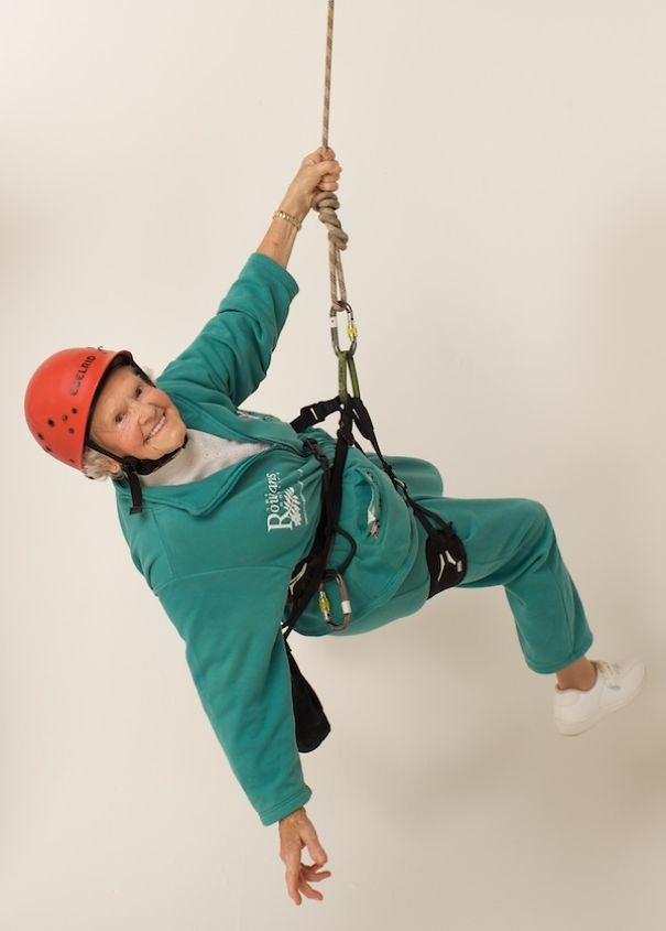 Doris Long, 100, Took Up Industrial Climbing When She Was 85