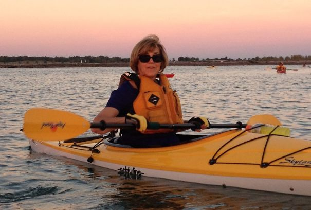 Julia Vona Took Up Kayaking At Age 68