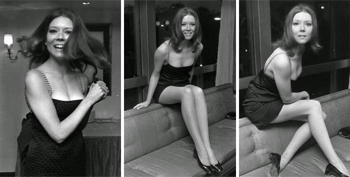 British Actress Diana Rigg, Also Known As Olenna Tyrell From Game Of Thrones (1967)