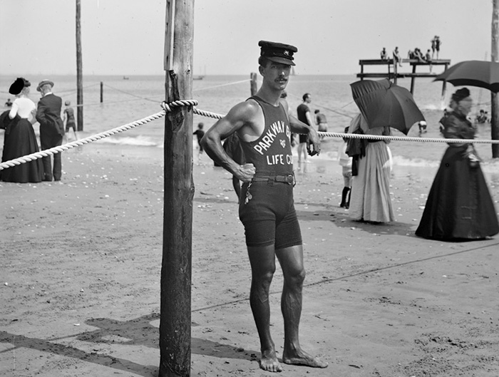 Life Guard, Brighton Beach, New York (Between 1901 And 1906)