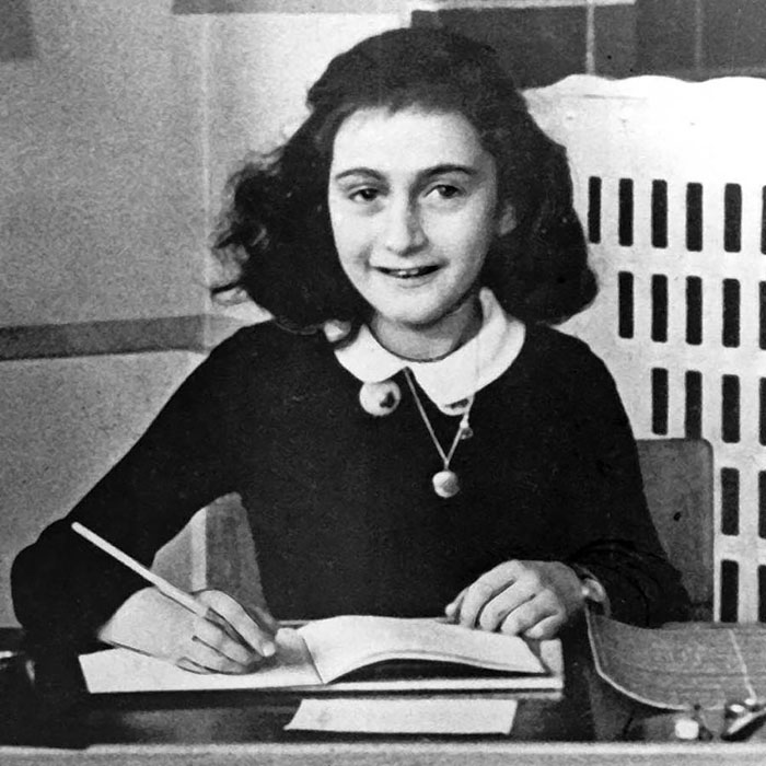 14 Anne Frank Was A Jewish Diarist And Writer