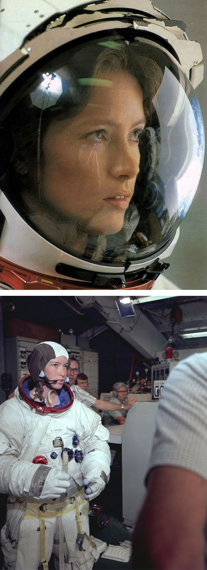 34 Anna Lee Fisher First Mother In Space 1984