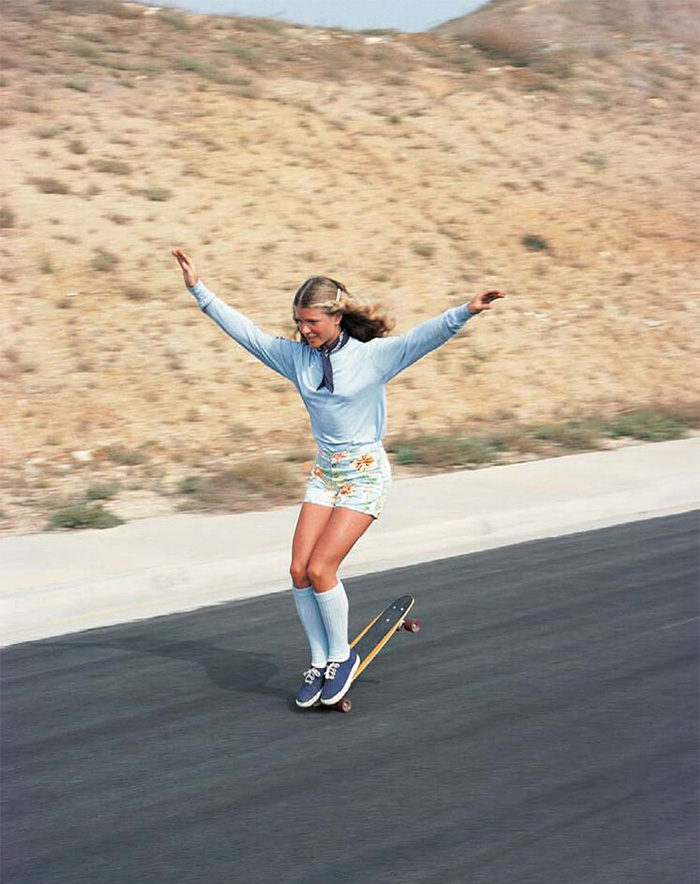 36 Ellen O'neal One Of Greatests Freestyle Skateboarders Skateboarding Hall of Fame 1970