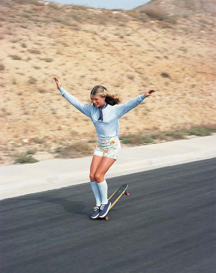 36 Ellen O'neal One Of Greatests Freestyle Skateboarders Skateboarding Hall of Fame 1970