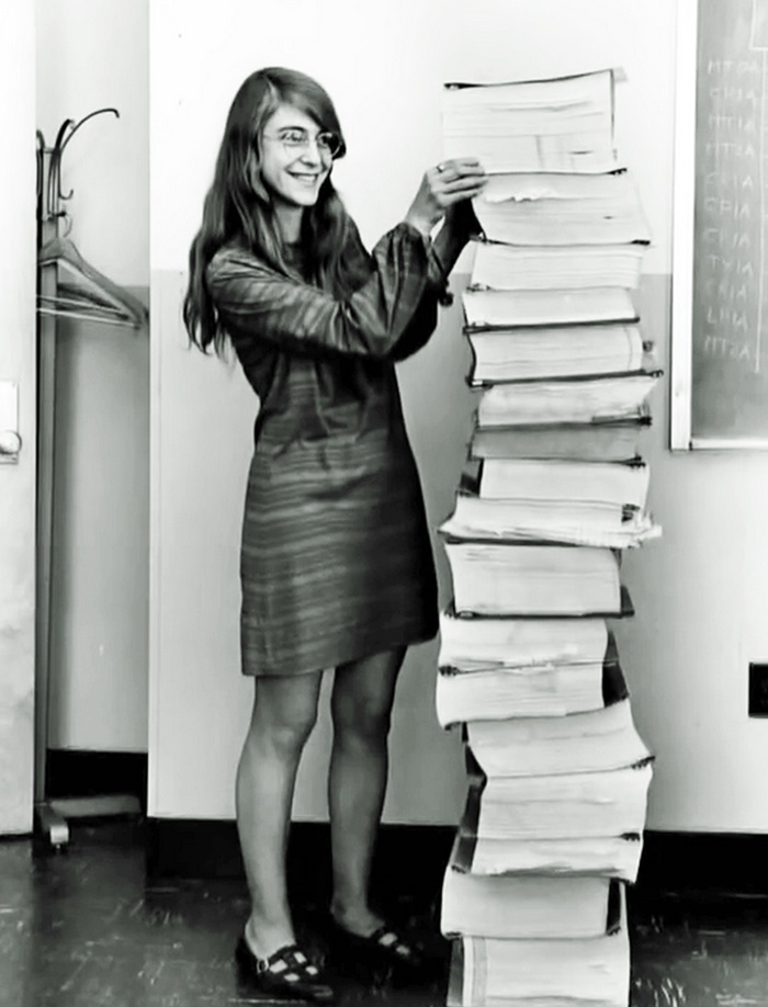 5 Margaret Heafield Director Software Engineering For Nasa Apollo Space Program