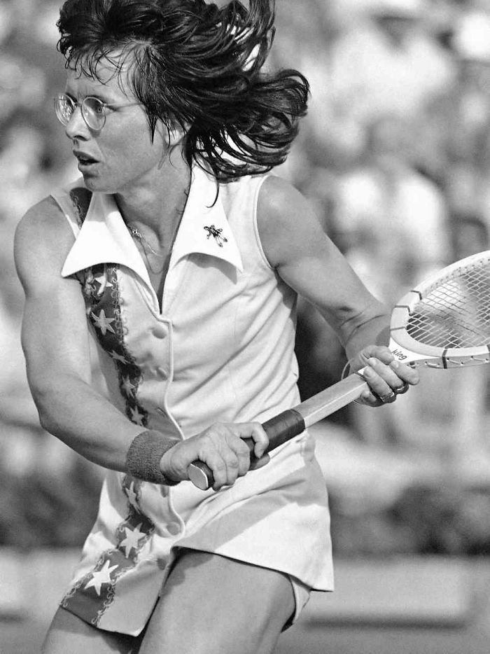 50 Billie Jean King Us Tennis Legend First Prominent Female Athlete Come Out
