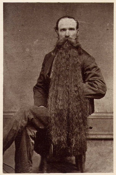 Long Beards in the Past (3)
