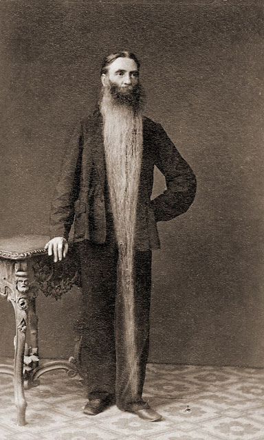 Long Beards in the Past (6)