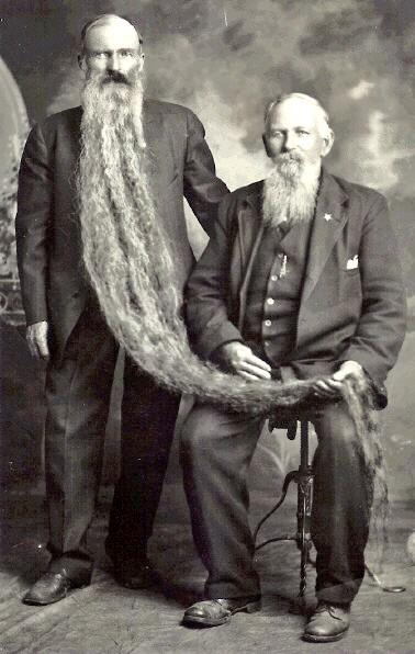 Long Beards in the Past (8)