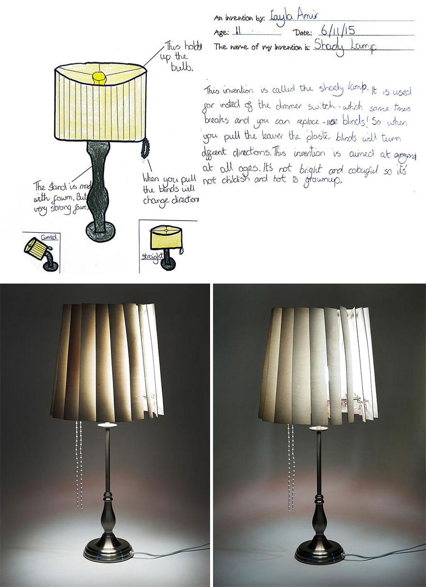2 Shady Lamp