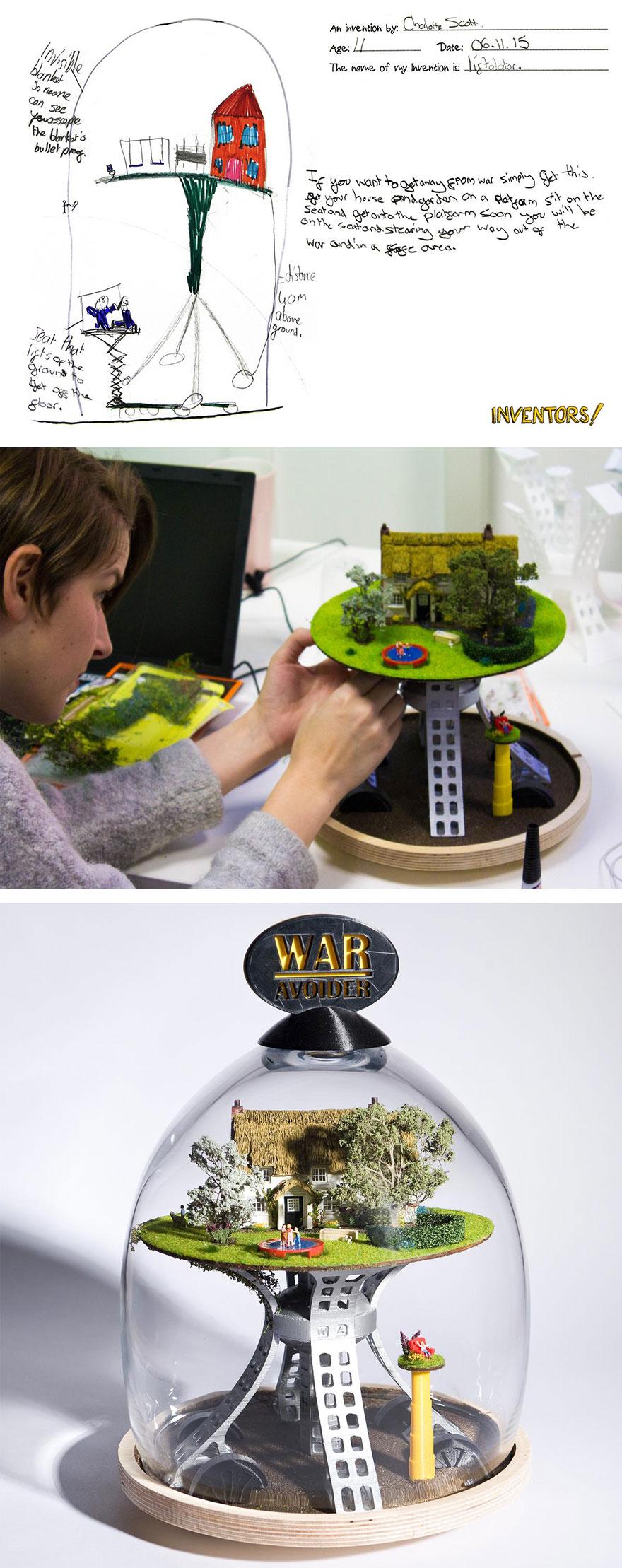 7 The Liftolator (War Avoider)