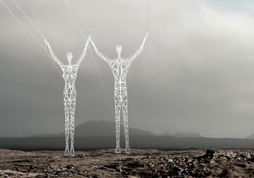 electricity-pylons-human-statues-choi-shine-3