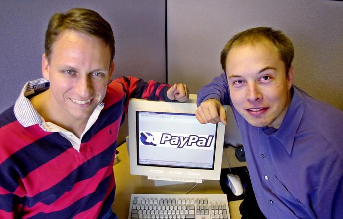 Ілон Маск PayPal